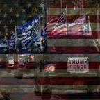 Will America Be Buried in a Flag?The use of symbols is intentional.